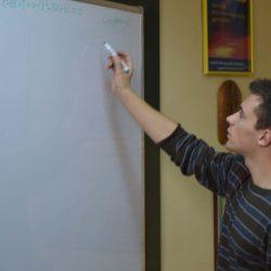 Nikola Sadovek na predavanju